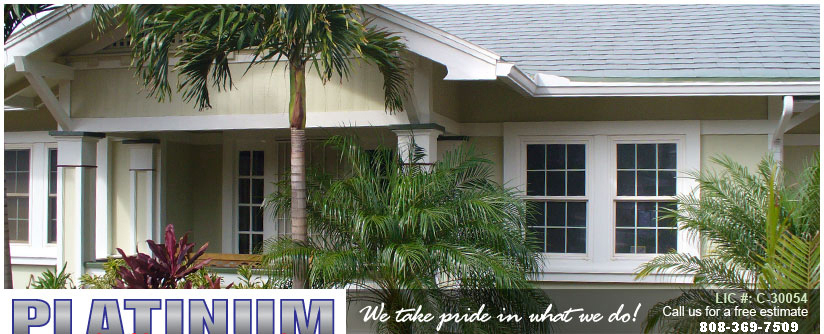 Platinum Painting Services-Hawaii's Best Painting Contractor